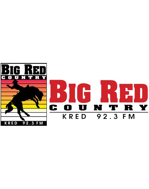 big red country 92.3 fm logo